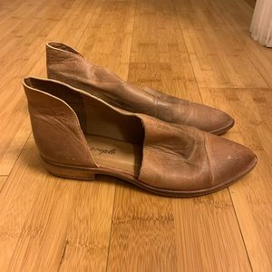Free people Royale brown leather shoes